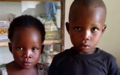 Zawadi and Emmanuel Baya
